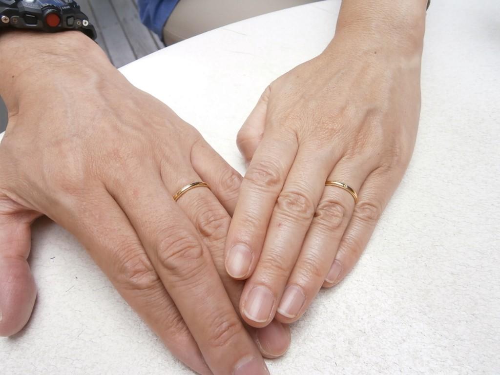 結婚記念日の指輪