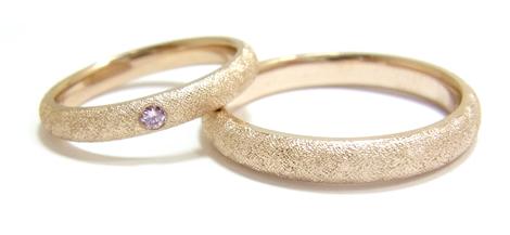 O様の結婚指輪