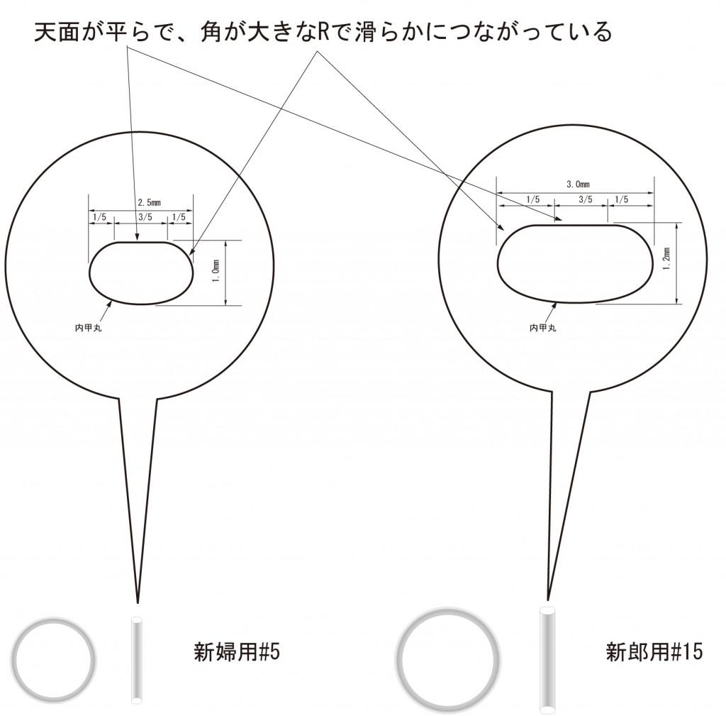 指輪のデザイン画