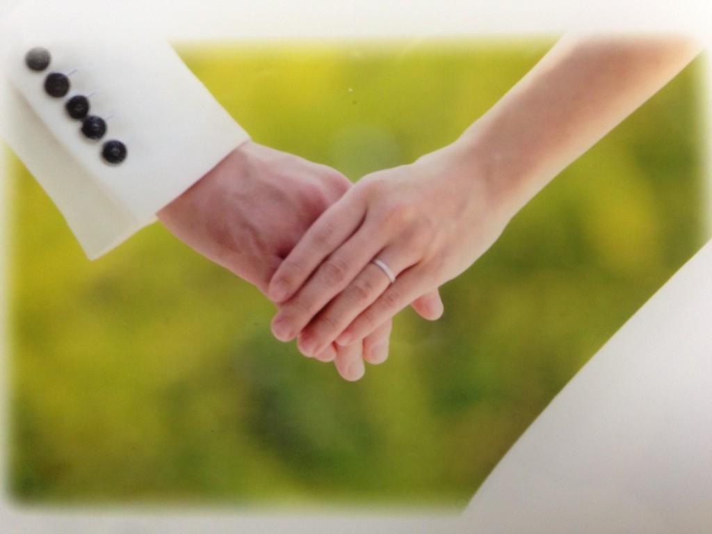 フラットの結婚指輪