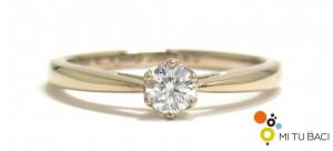 ゴールド 婚約指輪