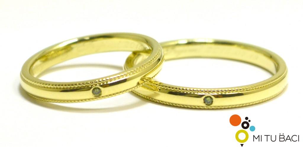 グリーンゴールド 結婚指輪
