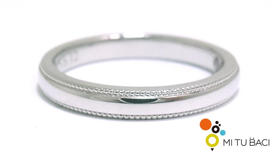 結婚指輪 ミル