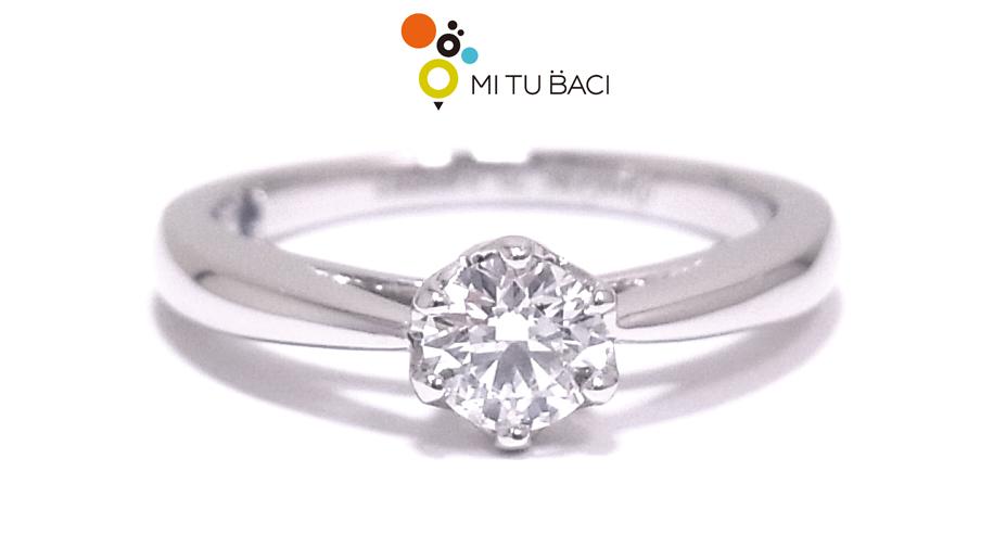 婚約指輪 立て爪