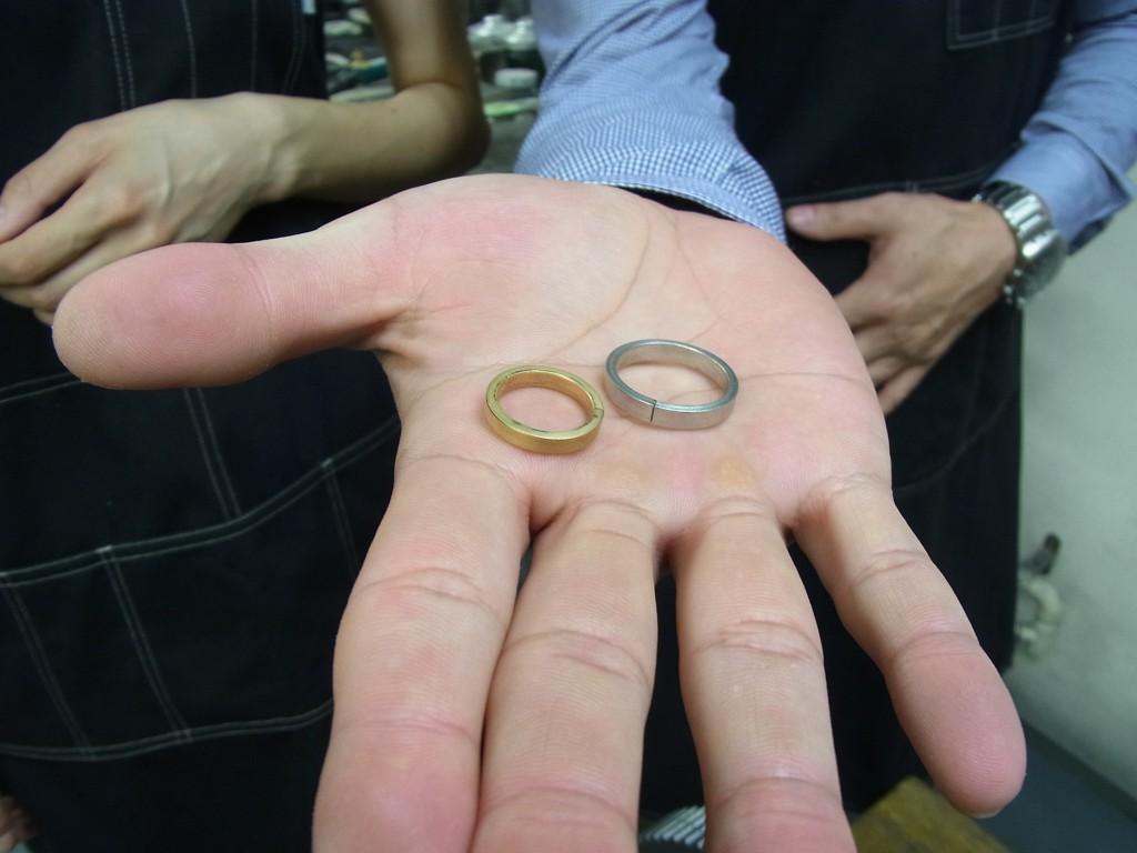 セルフメイド 結婚指輪