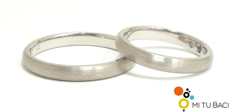 結婚指輪 シークレットストーン