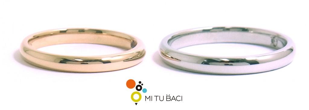 ローズゴールド 結婚指輪