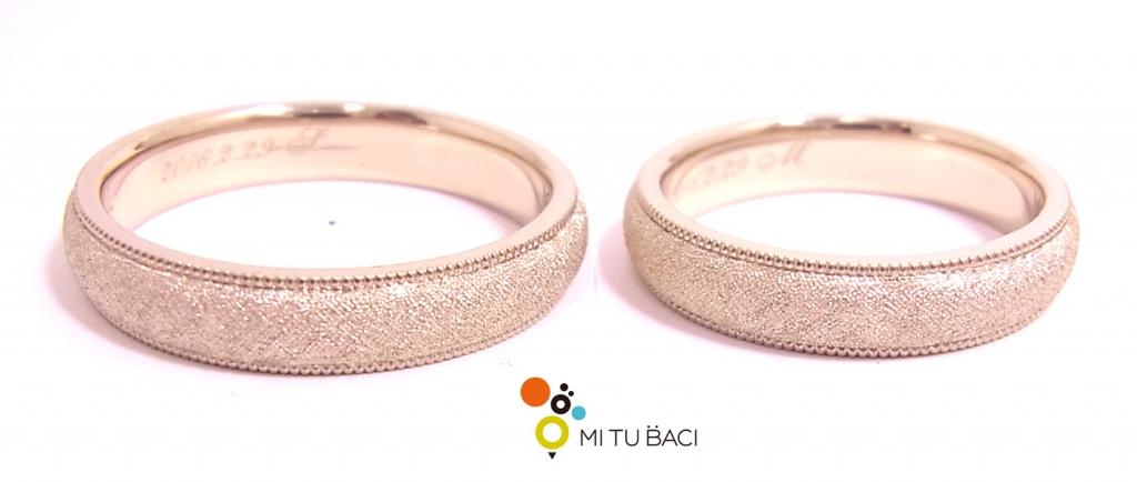 結婚指輪 特注