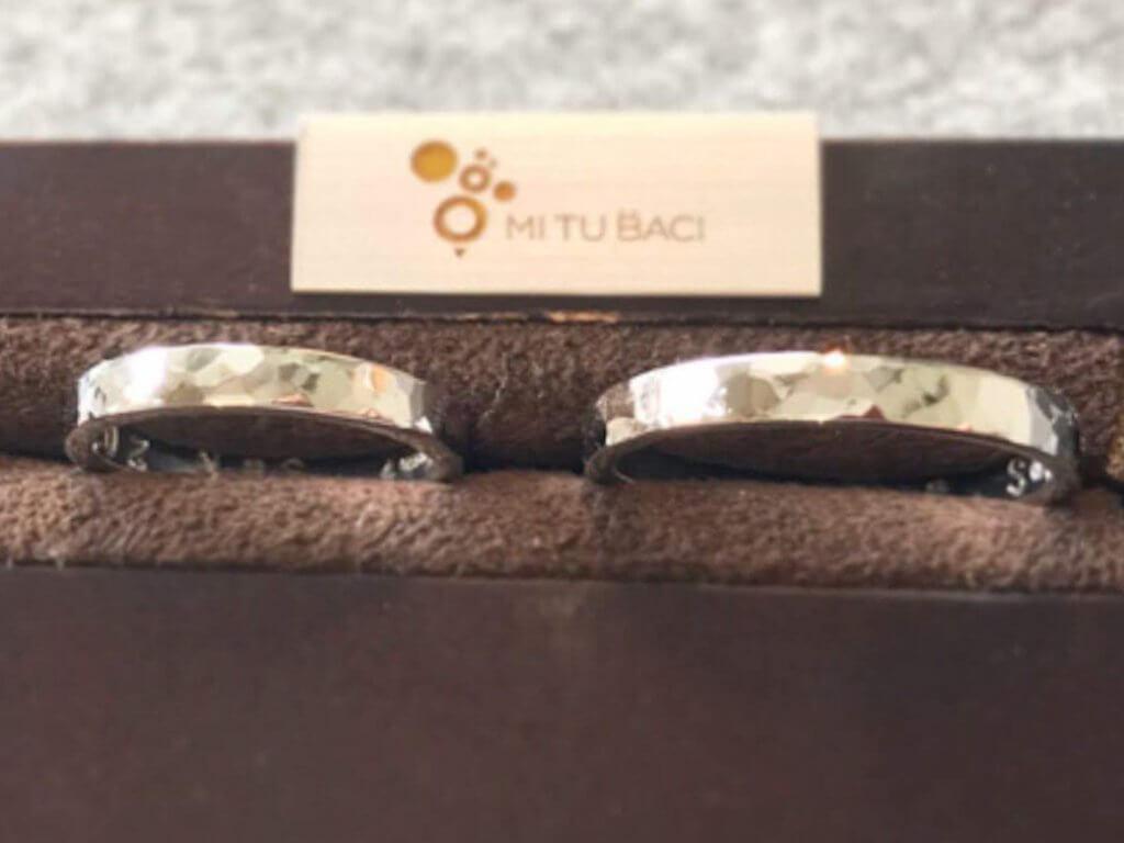 プラチナ950のリング
