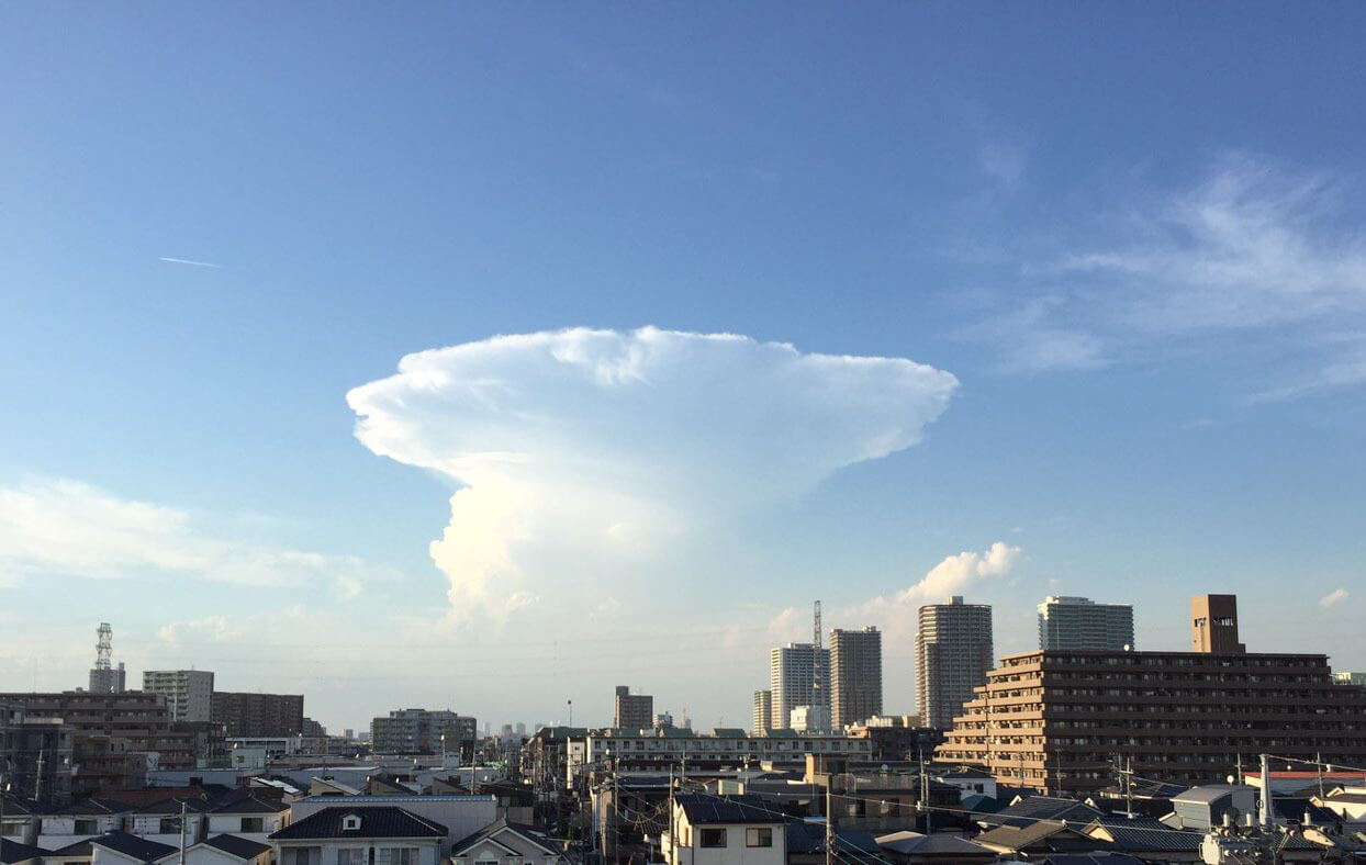 An Anvil Cloud Spotted