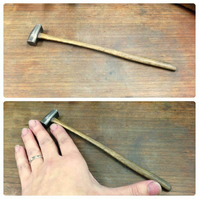 オタフク槌・彫金につかう道具のお話
