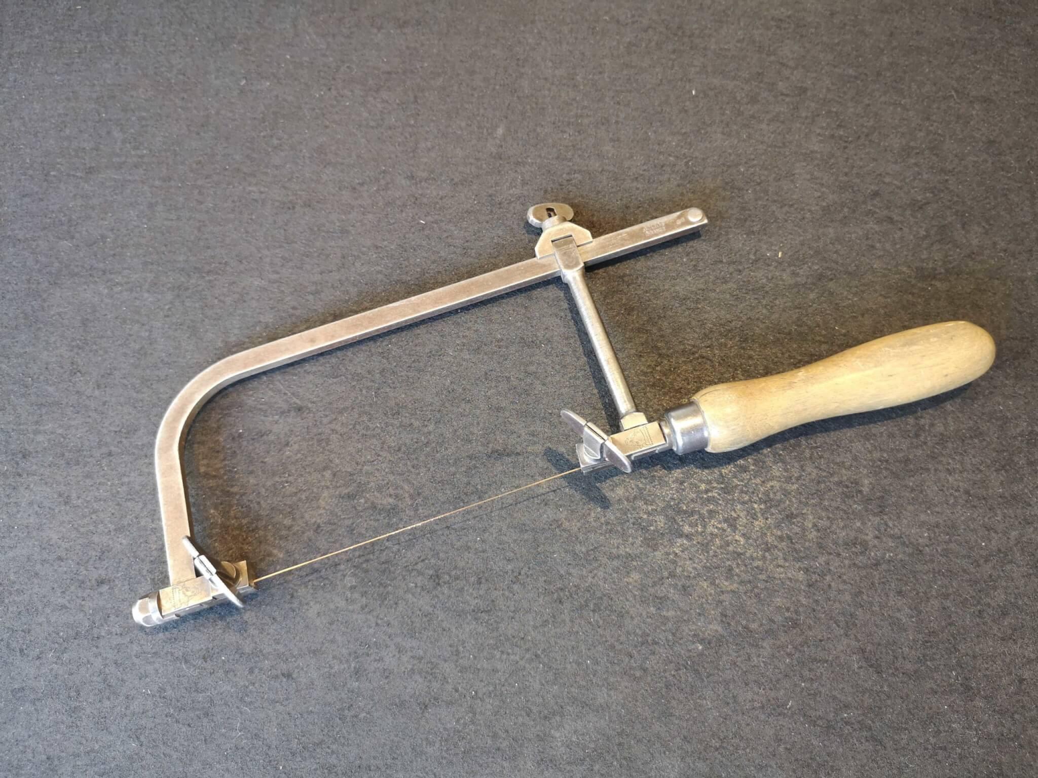 糸ノコフレーム・彫金につかう道具のお話