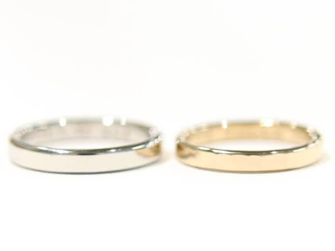 自分の好きなデザインで作る結婚指輪