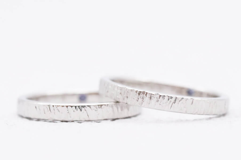 おそろいのフォレスタの結婚指輪