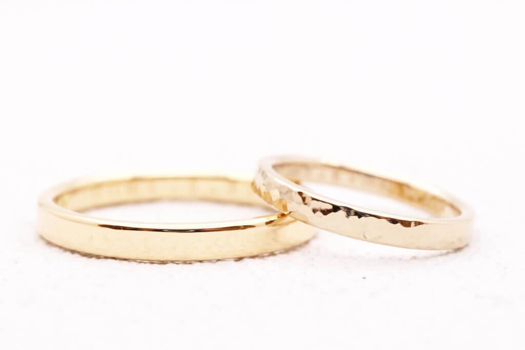 好きなゴールドで作る結婚指輪