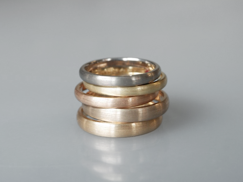 指輪の素材(貴金属)について