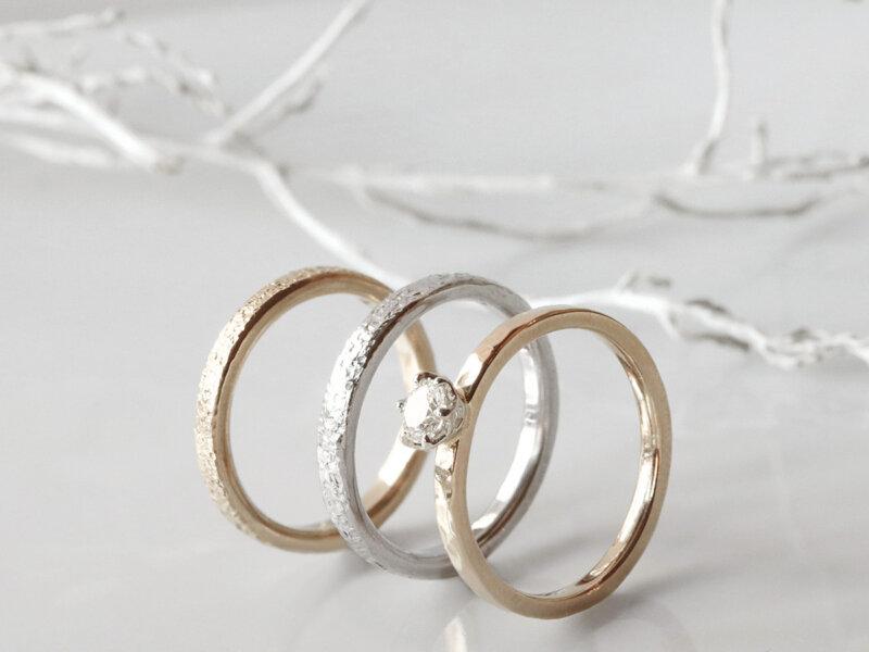 2人の思い出が積み重なった節目の結婚記念日には特別な指輪を!