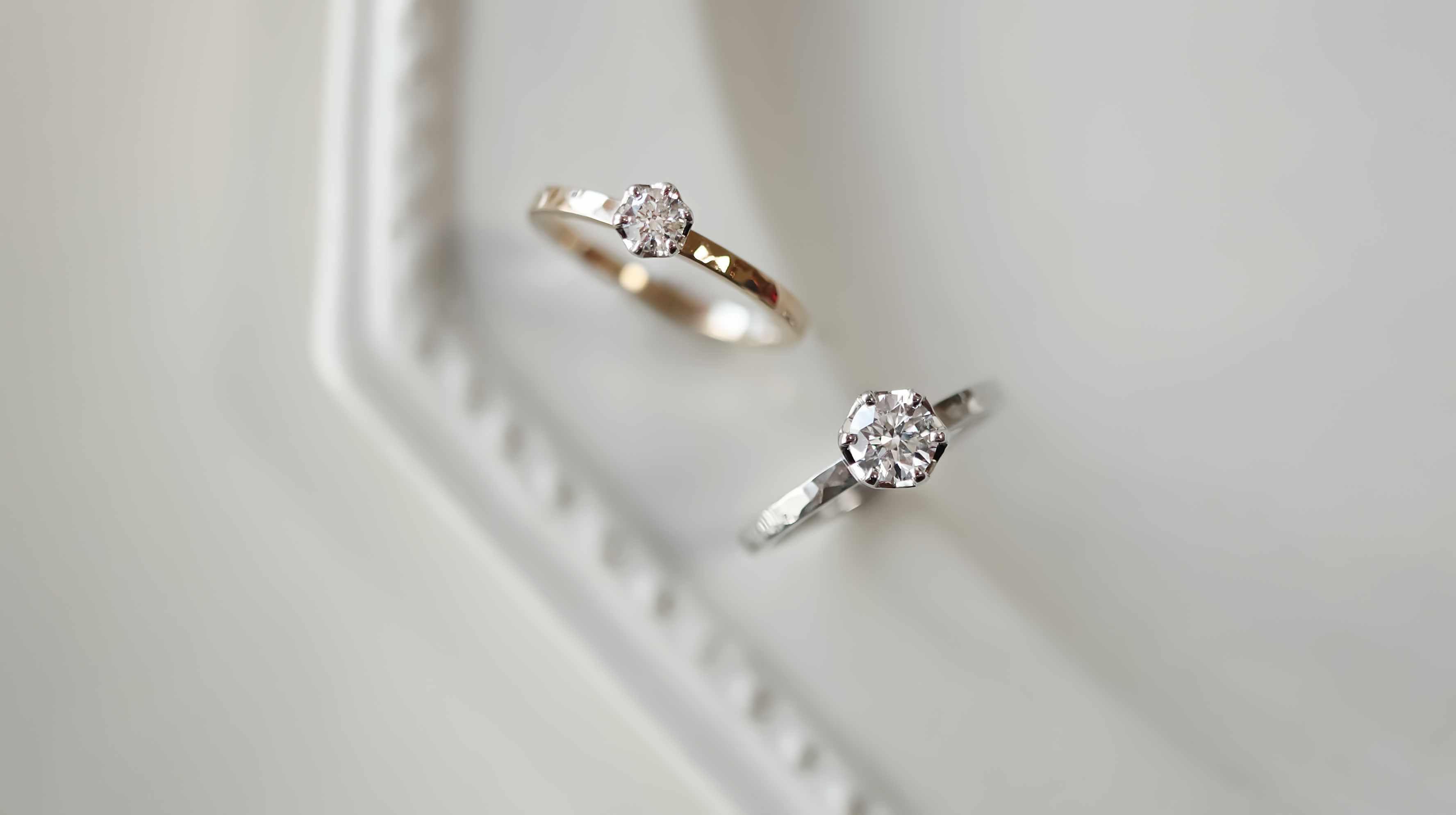 0.5ctの婚約指輪