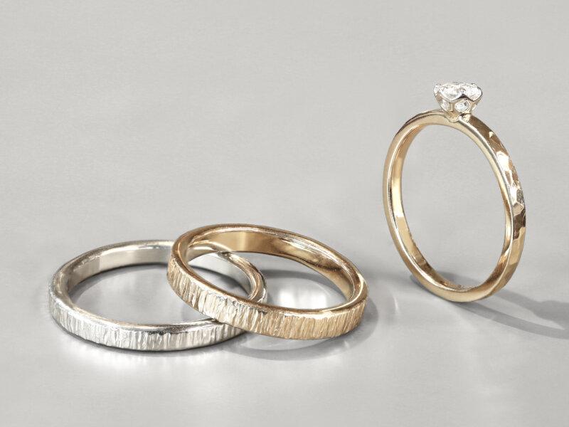 手作り結婚指輪を長く大切に使っていくには|劣化が心配な方も安心して選べる